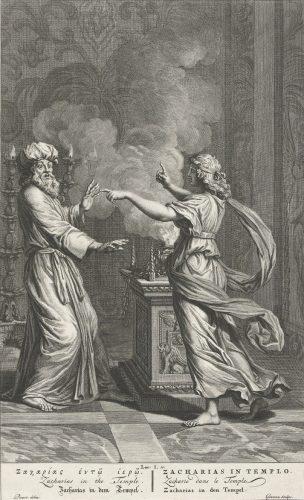 Gabriel visits Zacharias