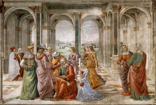 Zacharias names john the baptist