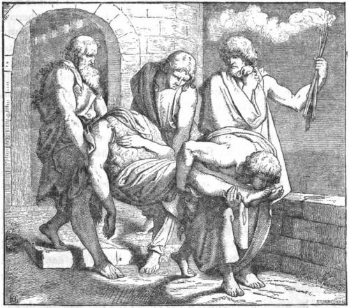 behaded body of john the baptist