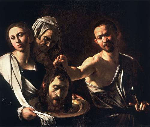 behaded head of john the baptist